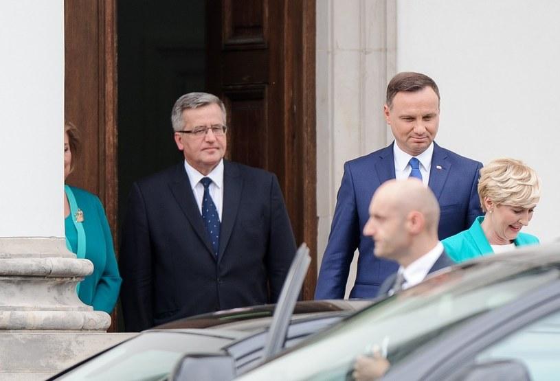 Bronisław Komorowski i Andrzej Duda /Rafał Oleksiewicz /Reporter
