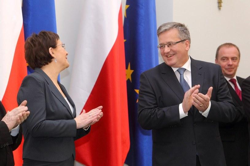Bronisław Komorowski i Ewa Kopacz, zdj. ilustacyjne /Jan Kucharzyk /East News