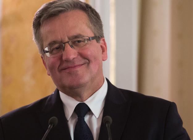 Bronisław Komorowski jest za wejściem do unii walutowej /Krystian Maj /Agencja FORUM