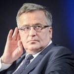 Bronisław Komorowski ostrzega: To będzie zasłona dymna