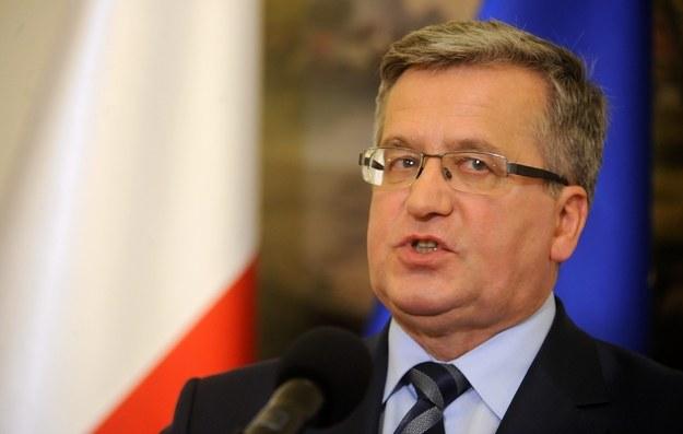 """Bronisław Komorowski: """"Podejmę tę decyzję bez niepotrzebnej zwłoki"""" /Bartłomiej Zborowski /Agencja SE/East News"""