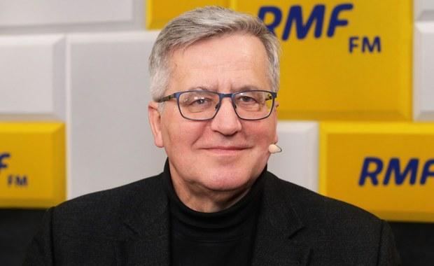 Bronisław Komorowski: Powiedziano parę słów za dużo i Terlecki wycofuje się z tego rakiem