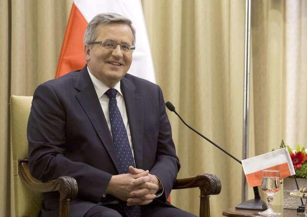 Bronisław Komorowski, prezydent AFP /AFP