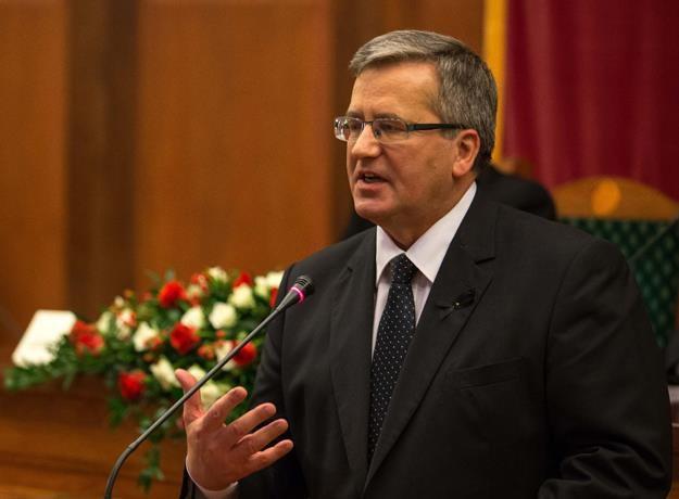 Bronisław Komorowski, prezydent RP /PAP