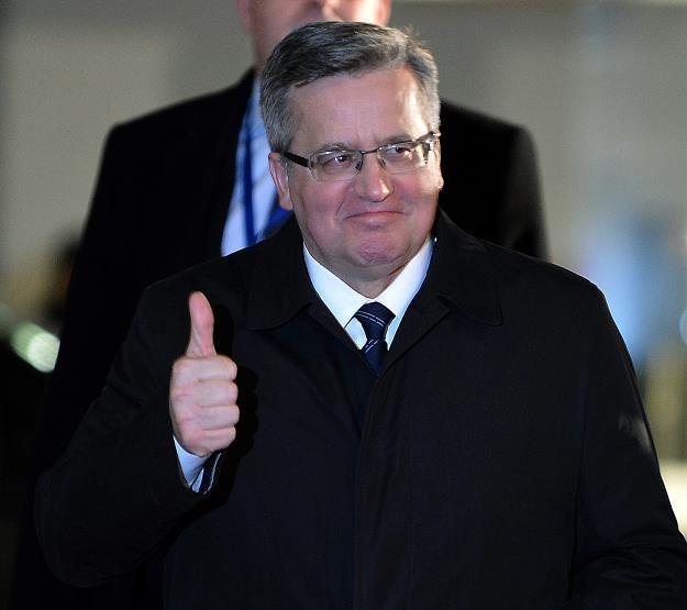 Bronislaw Komorowski, prezydent RP /AFP