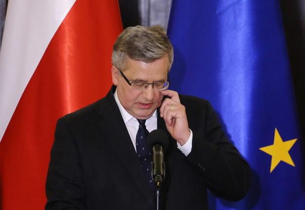 Bronisław Komorowski: Trzeba wykorzystać wypowiedź szefa FBI i przypomnieć zasługi Polski