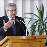 Bronisław Komorowski: W dyplomacji nie można być nosorożcem