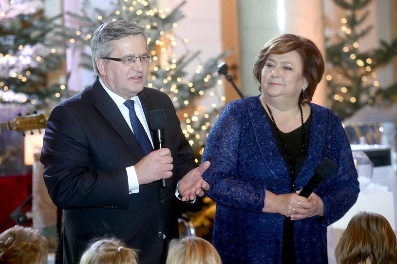 Bronisław Komorowski z żoną /Piętka Mieszko /AKPA