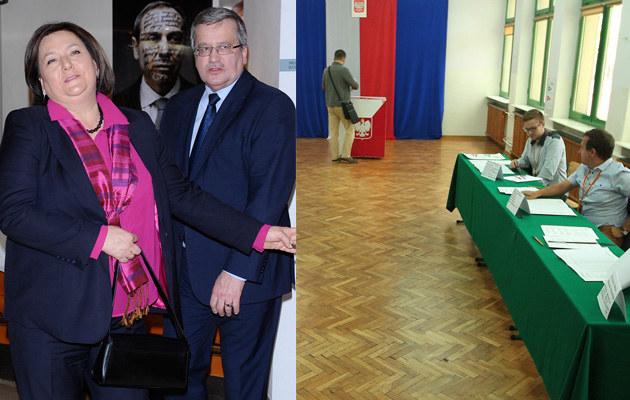 Bronisław Komorowski zarządził w czasie kampanii prezydenckiej referendum. Okazało się ono niewypałem /Stanisław Kowalczuk, MW Media Andras Szilagyi /East News