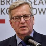 Bronisław Komorowski został przesłuchany ws. Amber Gold