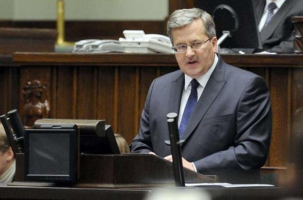 Bronisław Komorowski /AFP