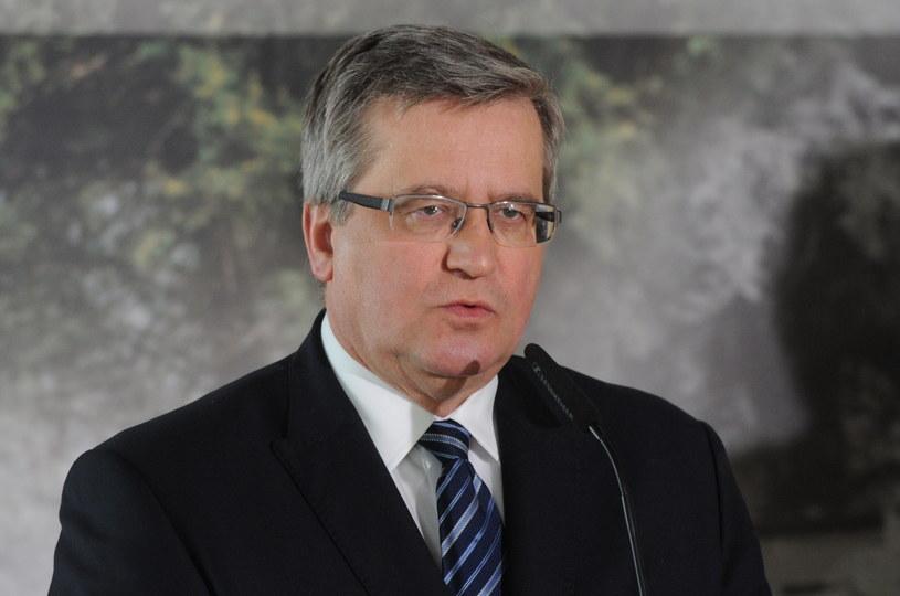 Bronisław Komorowski /PAP