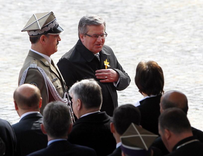 Bronisław Komorowski /Radek Pietruszka /PAP