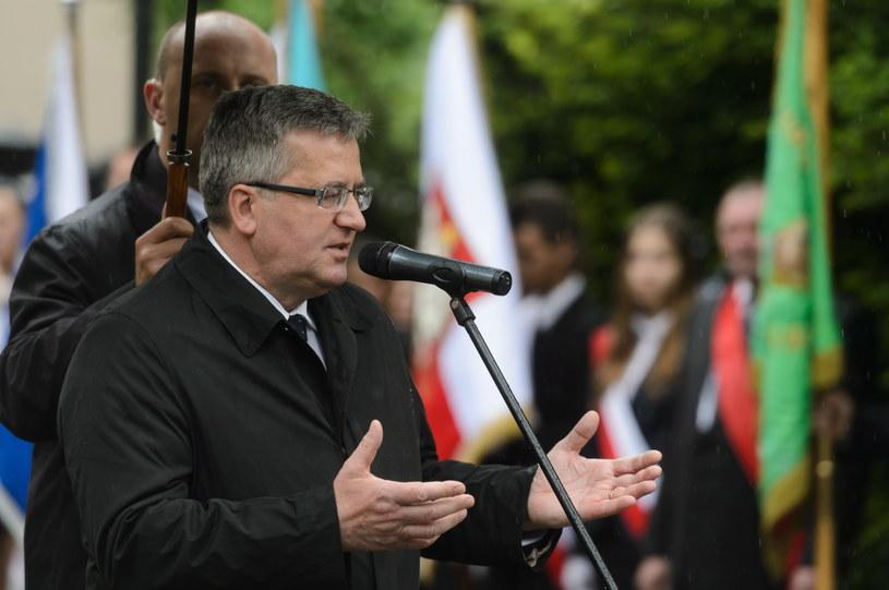 Bronisław Komorowski /Jakub Kaczmarczyk /PAP