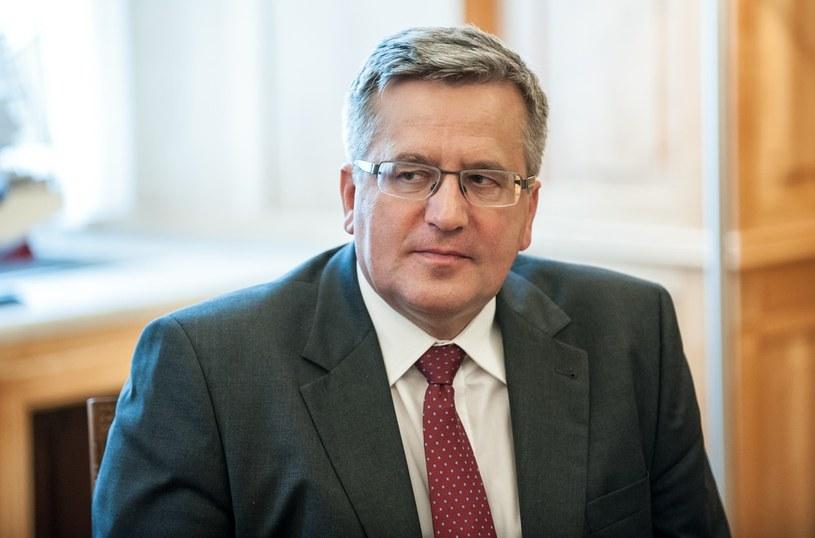 Bronisław Komorowski /Bartosz Krupa /East News