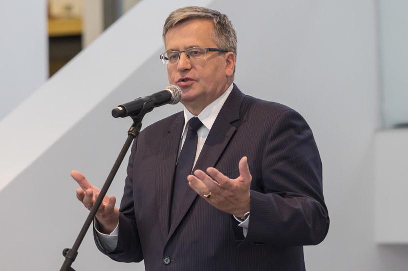 Bronisław Komorowski /Bartosz Jankowski /PAP