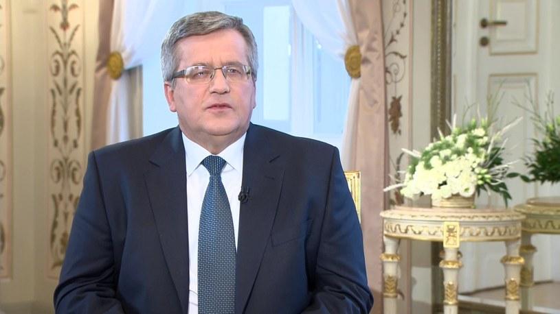 Bronisław Komorowski /TVN24/x-news /TVN24/x-news