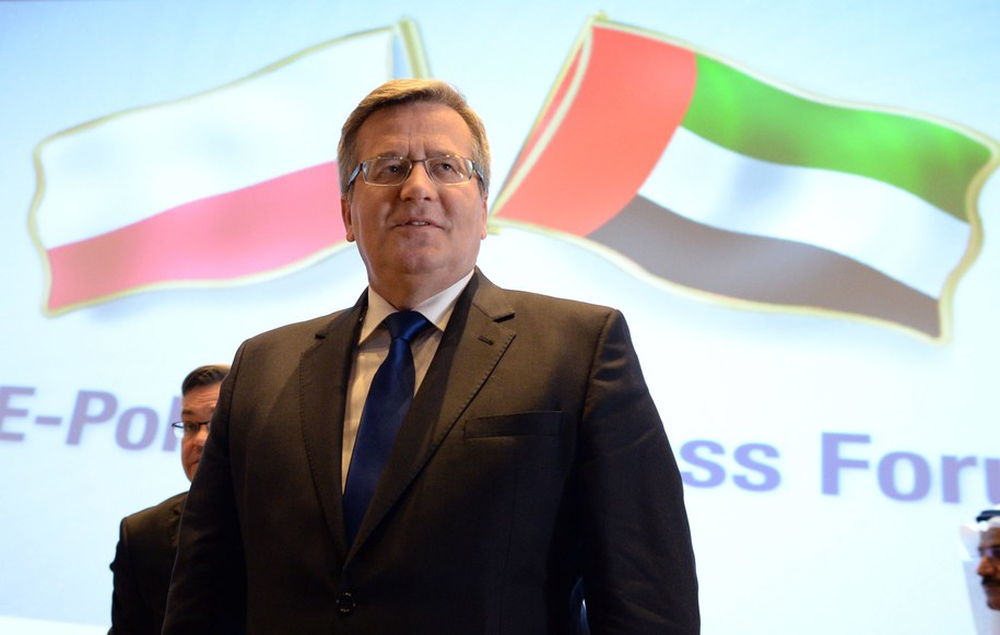 Bronisław Komorowski /Jacek Turczyk /PAP