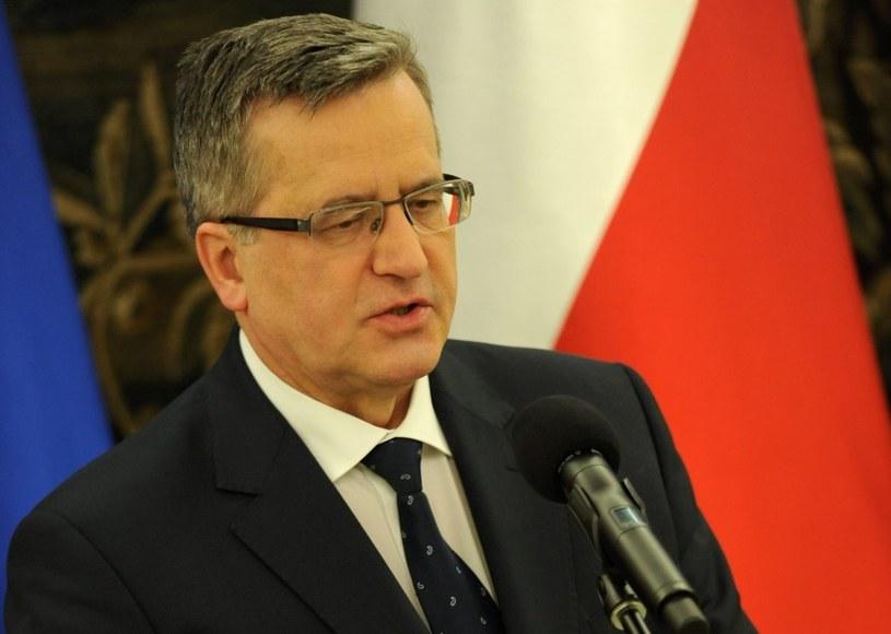 Bronisław Komorowski /Bartłomiej Zborowski /PAP