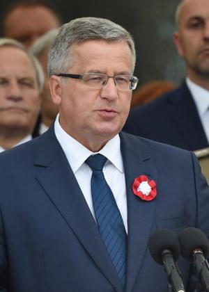 Bronislaw Komorowski /Radek Pietruszka /PAP