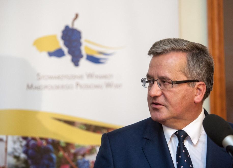 Bronisław Komorowski /Tomasz Koryszko (PAP) /PAP
