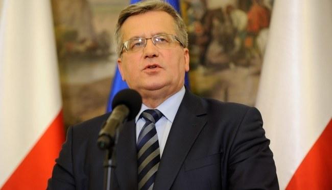 Bronisław Komorowski /PAP/Bartłomiej Zborowski /PAP