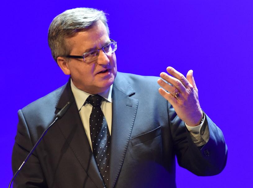 Bronisław Komorowski /Jacek Bednarczyk /PAP