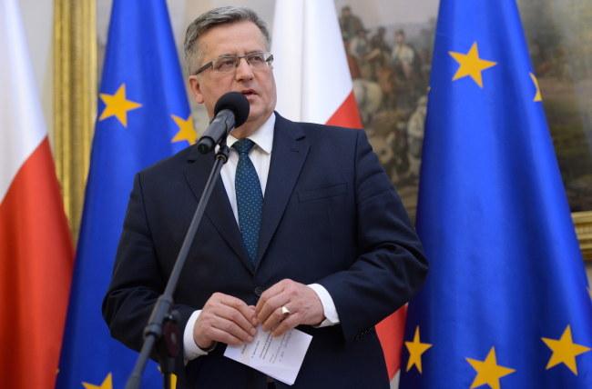 Bronisław Komorowski /PAP/Jacek Turczyk /PAP