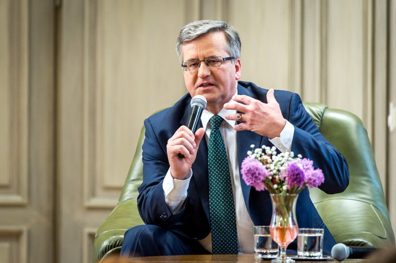 Bronisław Komorowski /Tytus Żmijewski /PAP
