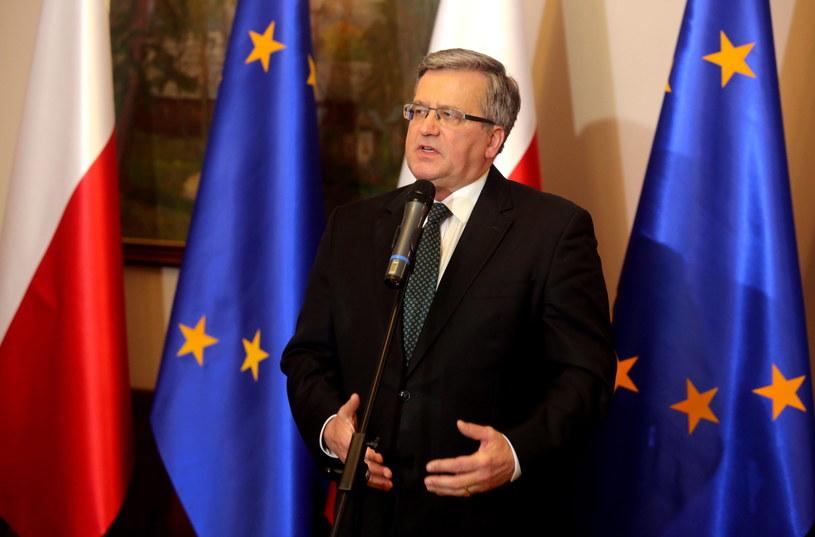 Bronisław Komorowski /Marek Zimny /PAP