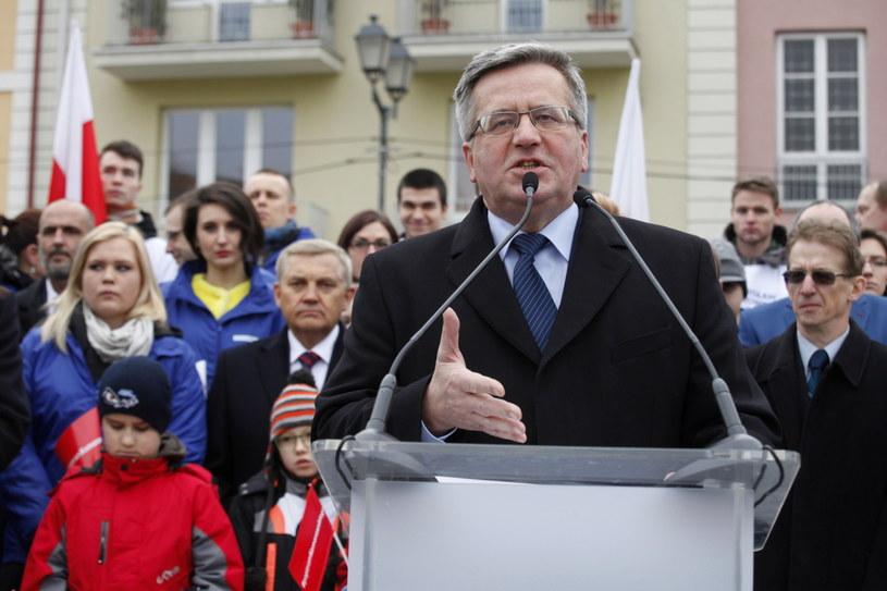 Bronisław Komorowski /Artur Reszko /PAP