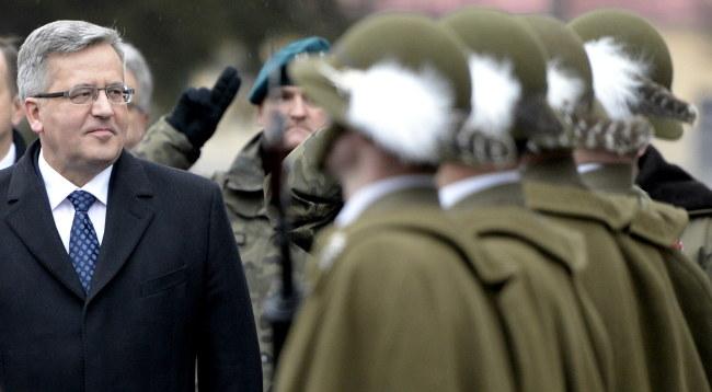Bronisław Komorowski /PAP/Darek Delmanowicz /PAP