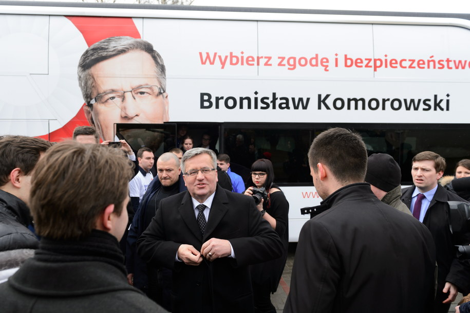 Bronisław Komorowski /pap/Jakub Kaczmarczyk /PAP