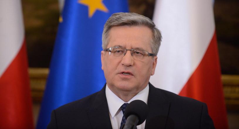 Bronisław Komorowski /Jakub Kamiński   /PAP