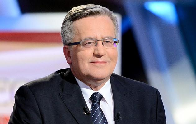 Bronisław Komorowski /Jarosław Antoniak /MWMedia