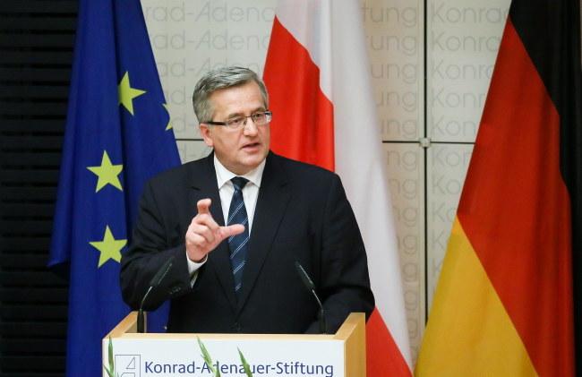 Bronisław Komorowski /PAP/Paweł Supernak /PAP