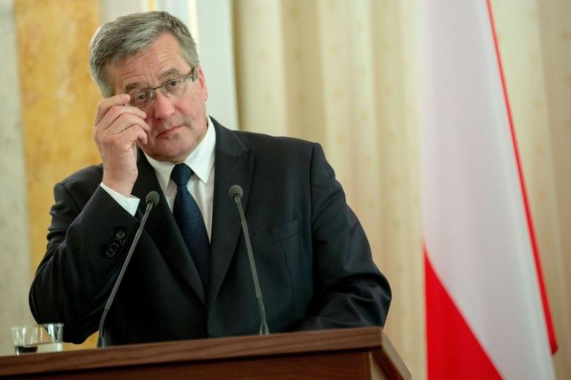 Bronisław Komorowski /Andrzej Iwańczuk/Reporter /East News