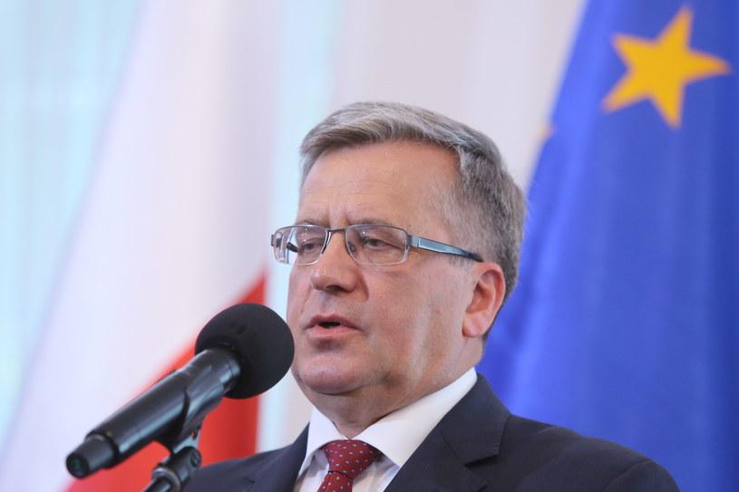 Bronisław Komorowski /Leszek Szymański /PAP