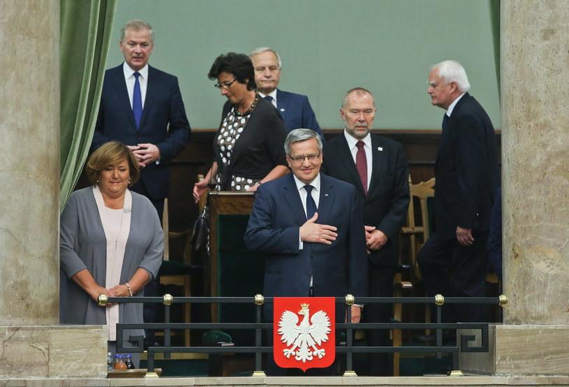 Bronisław Komorowski /Rafał Guz /PAP