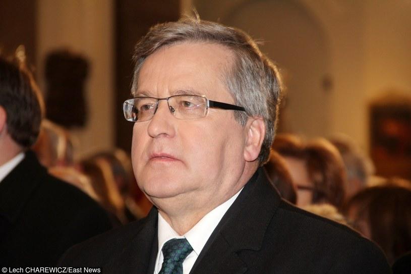 Bronisław Komorowski /Lech Charewicz /East News