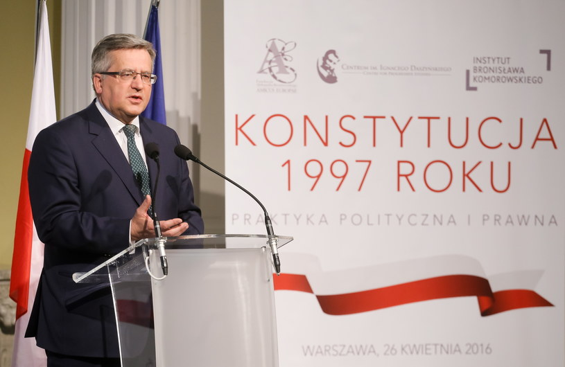 Bronisław Komorowski /Paweł Supernak /PAP