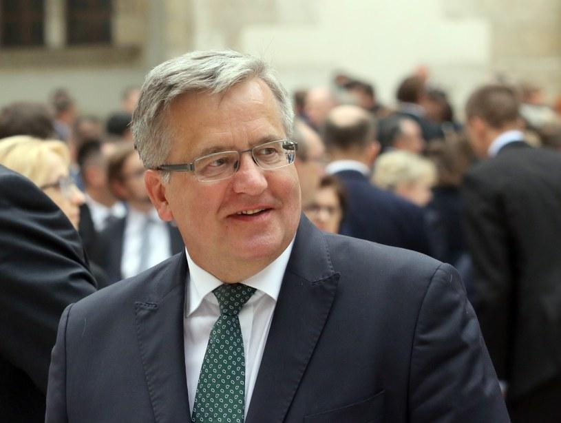 Bronisław Komorowski /Artur Barbarowski /East News