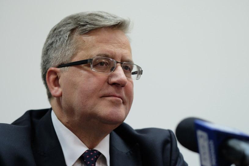 Bronisław Komorowski /ADRIAN WYKROTA /East News