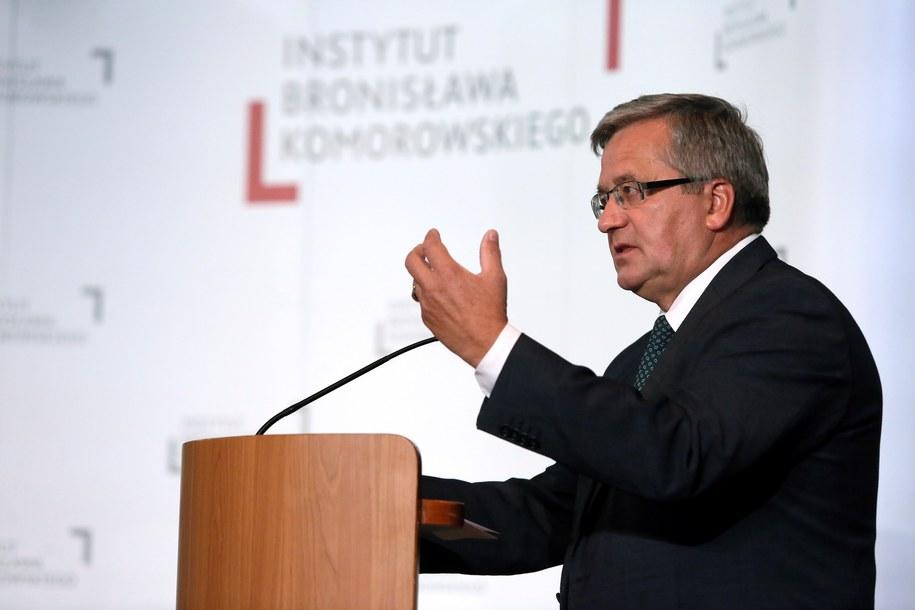 Bronisław Komorowski /Tomasz Gzell /PAP