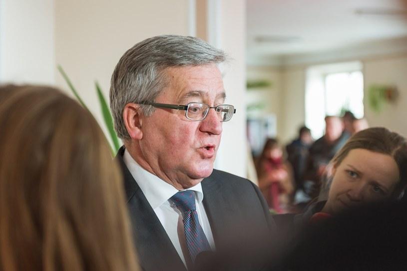 Bronisław Komorowski /Paweł Polecki /Reporter