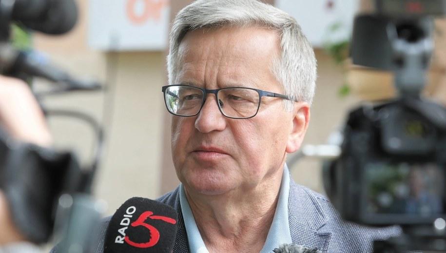 Bronisław Komorowski / Artur Reszko    /PAP