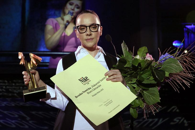 Bronka Nowicka została laureatką Nagrody Literackiej Nike /Tomasz Gzell /PAP