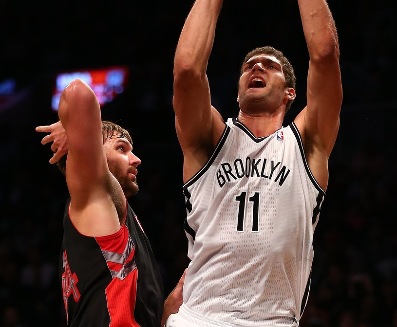 Brook Lopez rzucił 27 punktów dla Brooklyn Nets /AFP