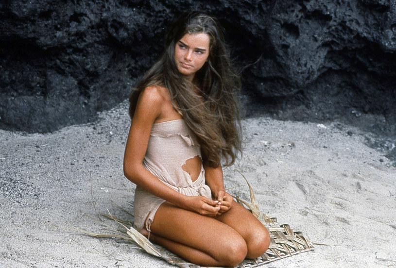 "Brooke Shields w filmie ""Błękitna laguna"" (1980) /Collection CSFF / Rue des Archives /Agencja FORUM"
