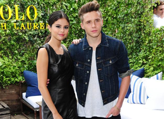 Brooklyn Beckham i Selena Gomez /Associated Press /East News